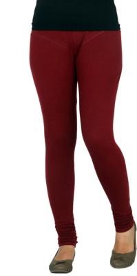 Barkha Fashion Women's Maroon Leggings