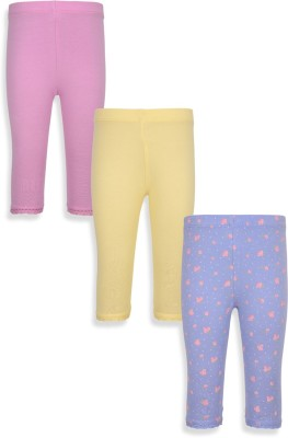 Mothercare Baby Girl's Blue, Yellow, Pink Leggings