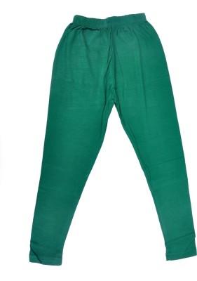 Perky Girl's Green Leggings
