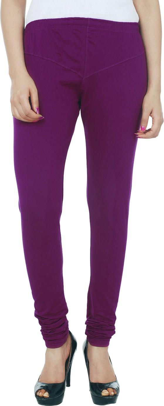 Knitgee Womens Purple Leggings