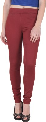 Irene Women's Maroon Treggings
