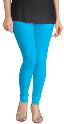 Miss Charming Women's Light Blue Leggings