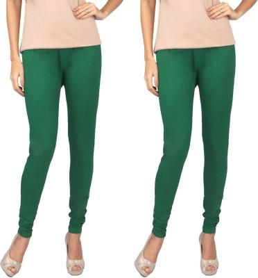 Rounak Creations Women's Green Leggings