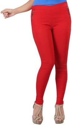 Bfly Women's Red Jeggings