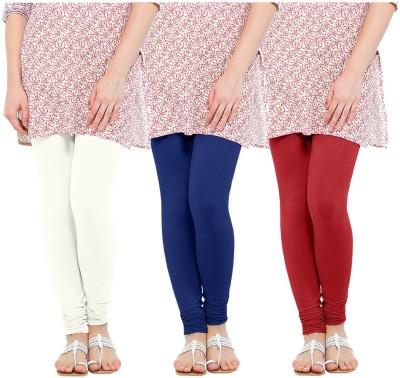 Oh Fish Women's Blue, White, Red Leggings
