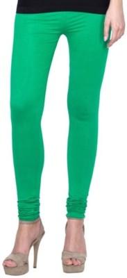 Family Bazaar Women's Green Leggings