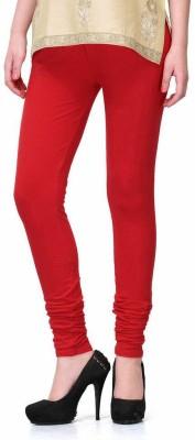StyleJunction Women,s Red Leggings