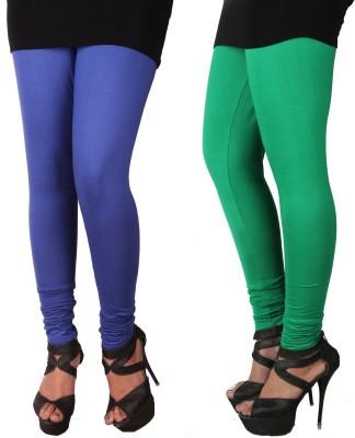 Roy Women's Blue, Dark Green Leggings