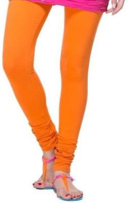 Cosmixstores Women's Orange Leggings