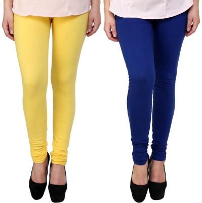 Legemat Girl,s Yellow, Blue Leggings