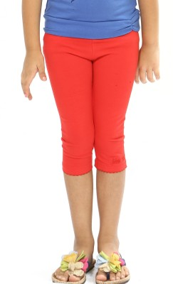 Bio Kid Girl's Orange Leggings