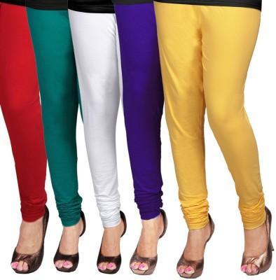 Desi Fusion Women's Multicolor Leggings