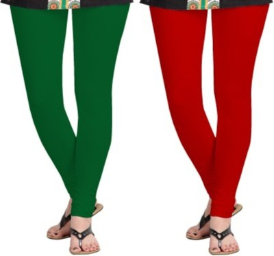 Hirshita Leggingss Women's Green, Red Leggings