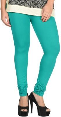 TOP ONE Women's Green Leggings