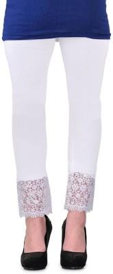 MDS Jeans Women's White Leggings