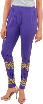 Feminine Women's Purple Leggings
