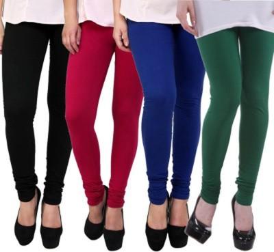 Roma Creation Women's Black, Pink, Blue, Green Leggings