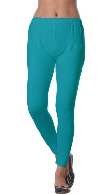 Prestitia Women's Light Blue Leggings