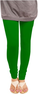 Leggings World Women,s Dark Green Leggings