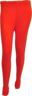 No Exxcess Women's Orange Leggings