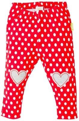 Disney Girl's Red Leggings