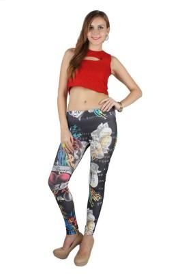N-Gal Women's Multicolor Leggings