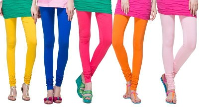M S Fashion Women's Multicolor Leggings