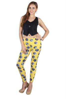 N-Gal Women's Yellow Leggings