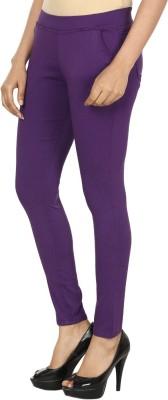 Prmesabh Women's Purple Jeggings