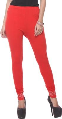 Lavennder Women's Red Leggings