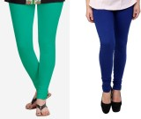 StudioRavel Women's Green, Blue Leggings...