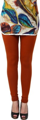 Charu Boutique Women's Orange Leggings