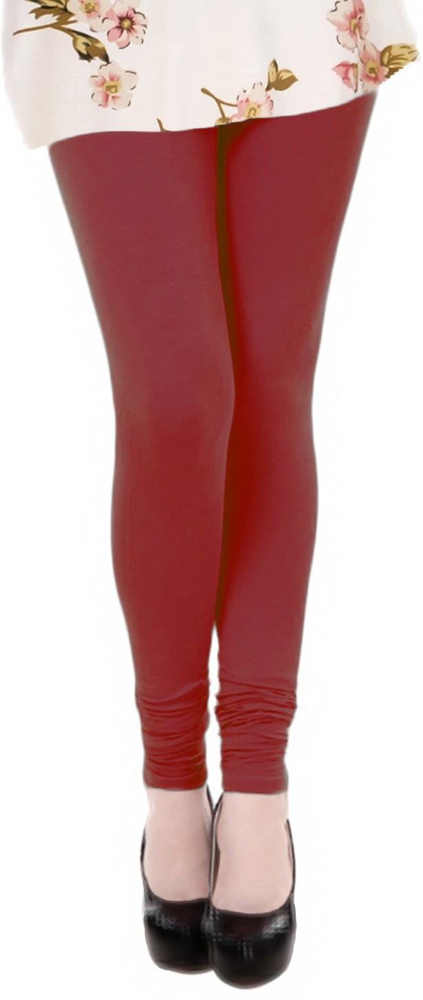 Sonari Fleur Womens Maroon Leggings