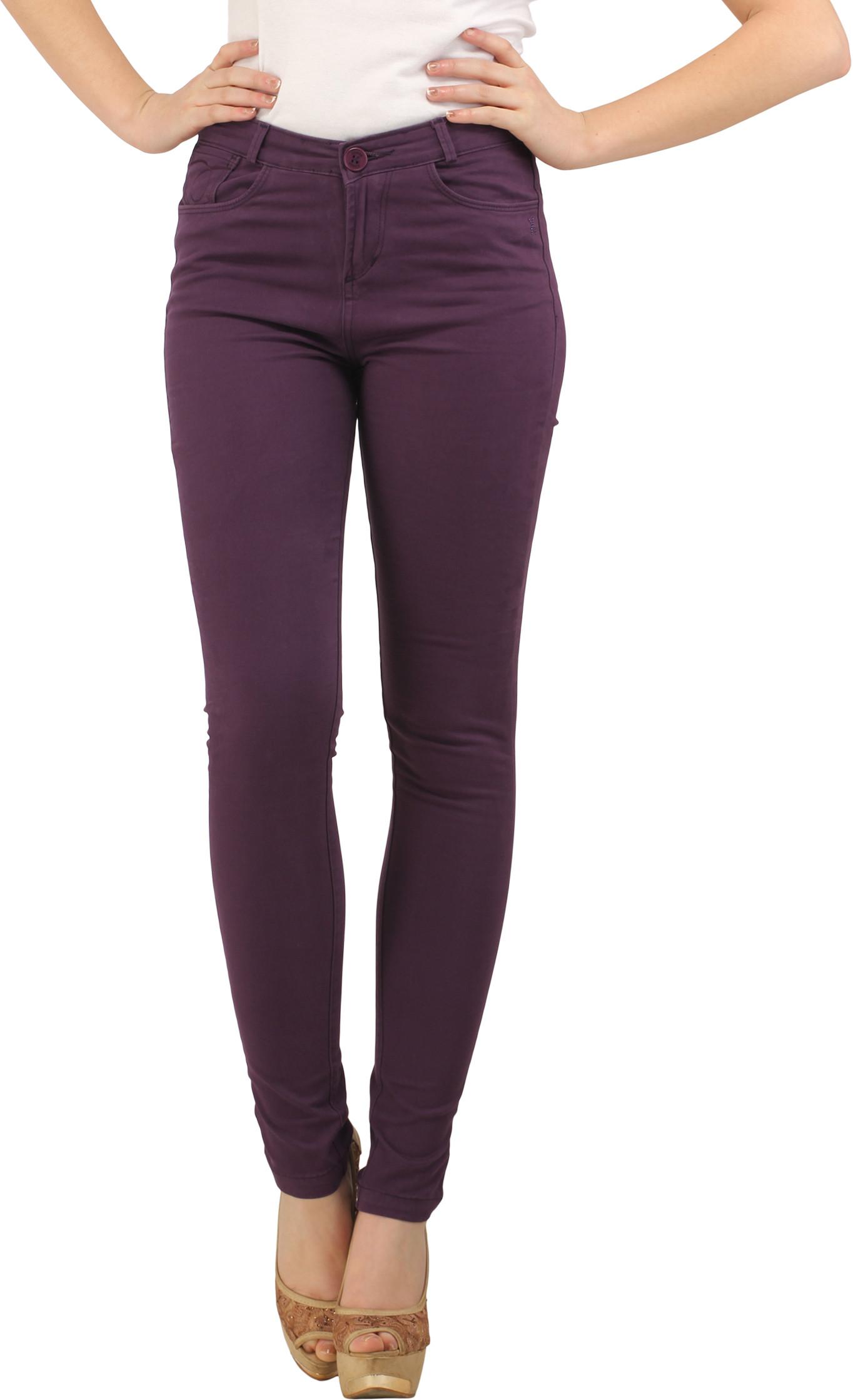 XPose Womens Purple Jeggings