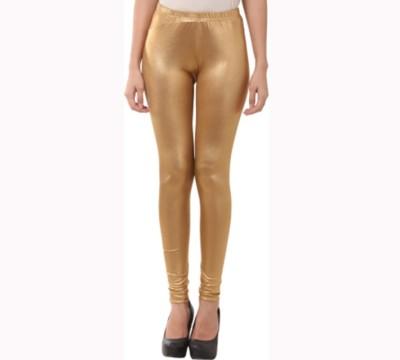 Agrima Fashion Women's Gold Leggings