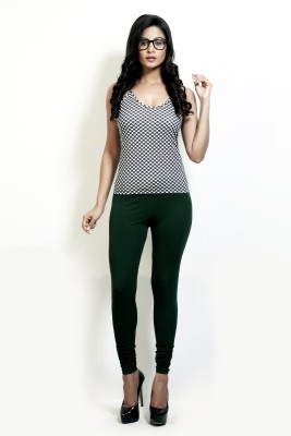 Design Classics Women's Dark Green Leggings