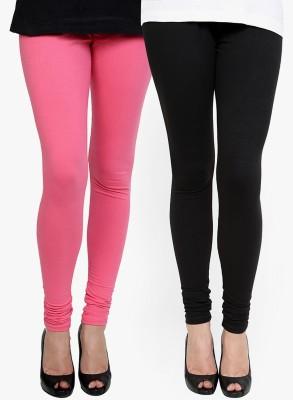 Addline Women's Black, Pink Leggings