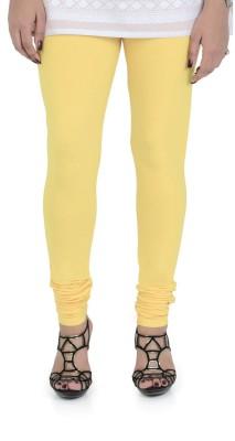 Bonjour Women's Yellow Leggings
