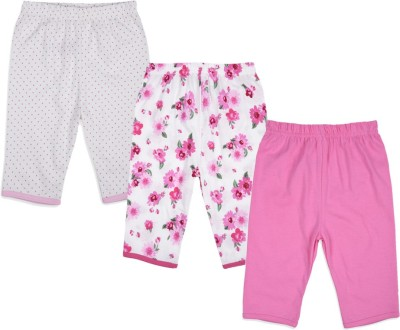 Mothercare Baby Girl's White, Pink Leggings