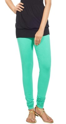 NEW TRENDS Women's Light Green Leggings