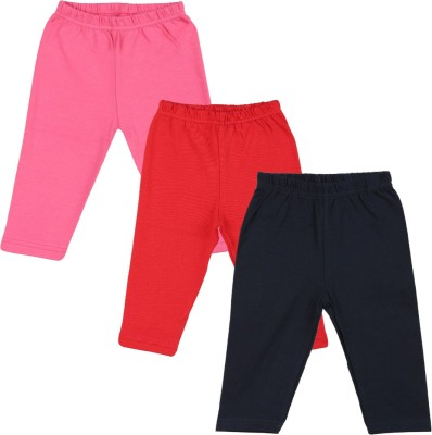 Color Fly Baby Girl's Pink, Purple, Yellow Leggings