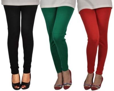 Mount Beauty Women's Black, Green, Orange Leggings