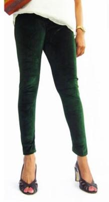pinksisly Women's Dark Green Leggings