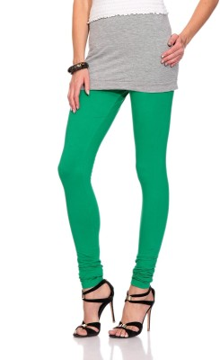 Styleava Women's Green Leggings