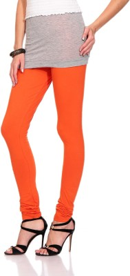 Styleava Women's Orange Leggings