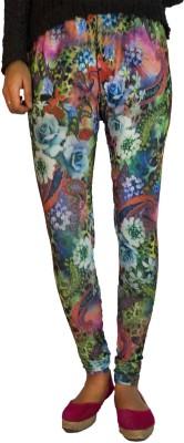B VOS Women's Multicolor Leggings