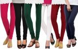 Famaya Women's Multicolor Leggings (Pack...