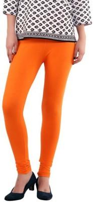 Kiyaracollection Women,s Orange Leggings
