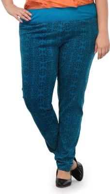PlusS Women's Blue Leggings