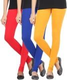 Elance Women's Red, Blue, Gold Leggings ...